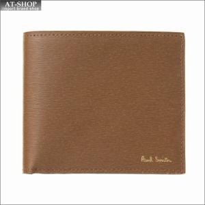 ポール・スミス PaulSmith 二つ折り財布 AUPC 4833 W905 62 Tan|at-shop