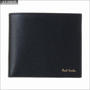ポール・スミス PaulSmith 二つ折り財布 AUPC 4833 W905 79 Black|at-shop