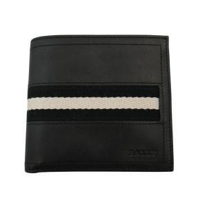 BALLYバリー 財布サイフ  TYE 290 二つ折り財布 ブラック bally_tye_290|at-shop