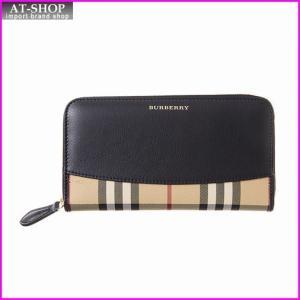 バーバリー BURBERRY 3982456 00100 ラウンドファスナー長財布 *|at-shop
