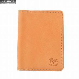 イルビゾンテ IL BISONTE C0469/M 120 Natural カードケース パスケース 定期入れ at-shop