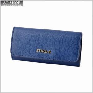 フルラ FURLA 828760 RJ09 B30 BLU COBALTO バビロン 6連 キーケース BABYLON KEYCASE LUNGO|at-shop
