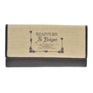 ブルガリ BVLGARI 財布サイフ COLLEZIONE 1910  レディース 二つ折り長財布 30168 NATURAL|at-shop