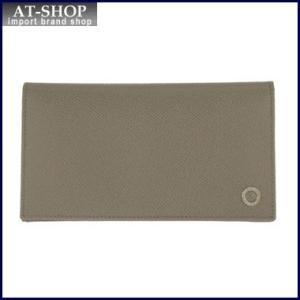 BVLGARI  ブルガリ 財布 30399 GRAIN/STONE GREY 長財布 at-shop