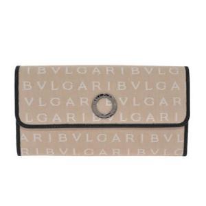 ブルガリ BVLGARI 財布サイフ レディース マキシレッタレシリーズ 30596 BEIGE 二つ折り長財布 ベージュ|at-shop