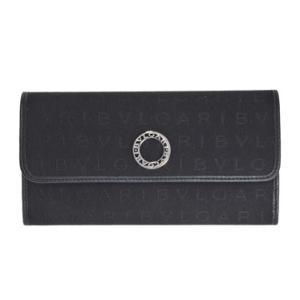 ブルガリ BVLGARI 財布サイフ レディース マキシレッタレシリーズ 30598 BLACK 二つ折り長財布 ブラック |at-shop