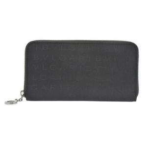 ブルガリ BVLGARI 財布サイフ レディース マキシレッタレシリーズ 31003 BLACK ラウンドーファスナー長財布 ブラック |at-shop