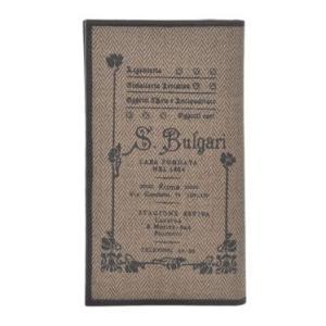 ブルガリ BVLGARI 財布サイフ COLLEZIONE 1910  レディース 二つ折り長財布 32015  ブラウン|at-shop