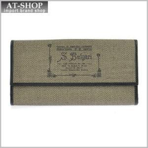 ブルガリ BVLGARI 財布サイフ COLLEZIONE 1910  レディース 二つ折り長財布 32021  ブラウン|at-shop