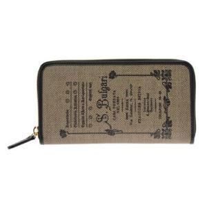 ブルガリ BVLGARI 財布サイフ COLLEZIONE 1910  レディース 32043 BROWN 二つ折り長財布 ラウンドファスナー|at-shop