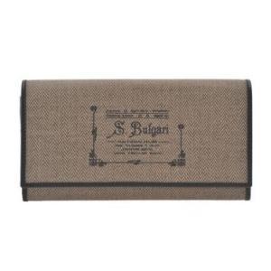 ブルガリ BVLGARI 財布サイフ COLLEZIONE 1910  レディース 二つ折り長財布 32052  ブラウン|at-shop