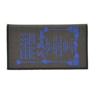 ブルガリ BVLGARI コレッツォーネ ロゴプリント 小銭入れ付 二つ折り長財布 ブラック/ブルー 32444 CANVAS/BLK|at-shop