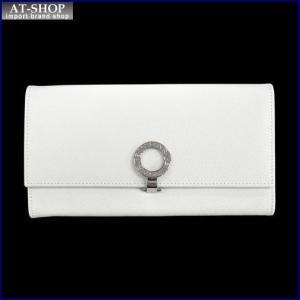 BVLGARI ブルガリ 財布サイフ BVLGARI 二つ折り長財布 31584 ホワイト|at-shop