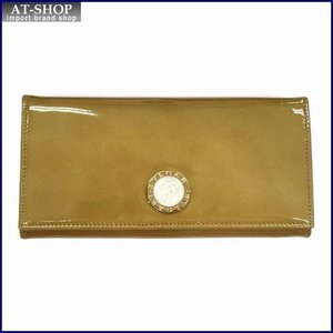 BVLGARI ブルガリ 財布サイフ BB COLORE 二つ折り長財布 33761 ゴールド|at-shop