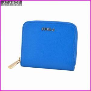 フルラ FURLA 816937 PN51 B30 BLUETTE ラウンドファスナー ミニ財布 BABYLON S|at-shop