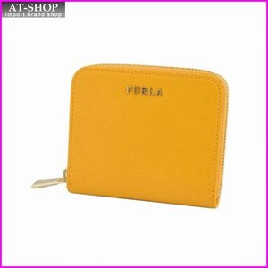 フルラ FURLA 816938 PN51 B30 GIALLO ラウンドファスナー ミニ財布 BABYLON S|at-shop