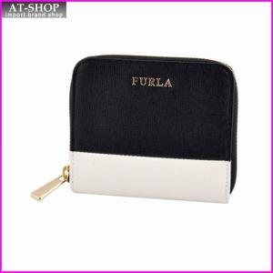 フルラ FURLA 818269 PO79 B30 ONYX/PETALO バイカラー ラウンドファスナー ミニ財布 BABYLON S|at-shop