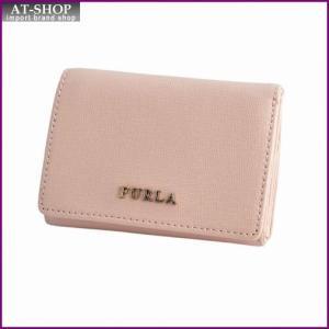 フルラ FURLA 771868 PN75 B30 MAGNOLIA バビロン パスケース付 三つ折り ミニ財布 BABYLON S TRIFOLD|at-shop