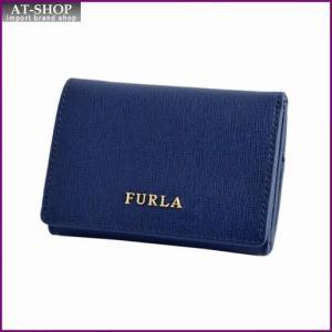 フルラ FURLA 776690 PN75 B30 NAVY バビロン パスケース付 三つ折り ミニ財布 BABYLON S TRIFOLD|at-shop