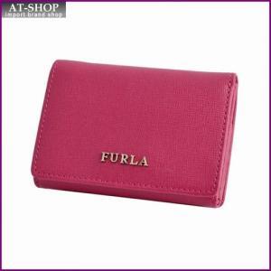 フルラ FURLA 828051 PN75 B30 ROSSO バビロン パスケース付 三つ折り ミニ財布 BABYLON S TRIFOLD|at-shop