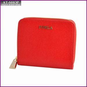 フルラ FURLA 828045 PN51 B30 ROSSO バビロン ラウンドファスナー ミニ財布 BABYLON S ZIP AROUND|at-shop