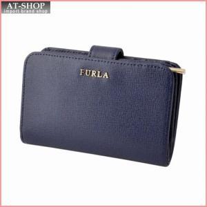 フルラ FURLA 850774 PN12 B30 NAVY バビロン バイフォールド ジップウォレット BABYLON M ZIP AROUND|at-shop