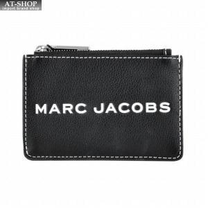 マークジェイコブス MARC JACOBS M0014870-001 MJロゴタグ&バーコードプリント キーリング付 コインケース|at-shop