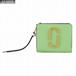 マークジェイコブス MARC JACOBS M0013360-332 ダブルJロゴ スナップショット カラーブロック 二つ折り ミニ財布 Snapshot Mini Compact Wallet|at-shop