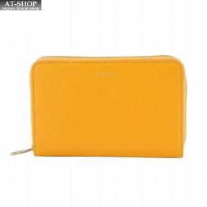 ポールスミス PAUL SMITH W1A 5216 AGOAT 16 ラウンドファスナー二つ折り財布 内外カラーブロック|at-shop