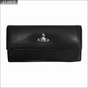 Vivienne Westwood ヴィヴィアン・ウェストウッド 財布サイフ NO,10 CAMBRIDGE 二つ折り長財布 51060022 BLACK 18SS ブラック|at-shop