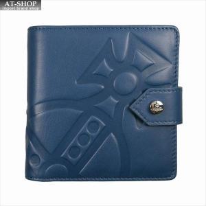 Vivienne Westwood ヴィヴィアン・ウェストウッド 財布サイフ NO,10 CHESTER 二つ折り財布 51090001 BLUE 18SS ブルー 51090010|at-shop