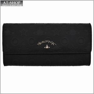 Vivienne Westwood ヴィヴィアン・ウェストウッド 財布サイフ NO,8 CHILHAM 二つ折り長財布 39.0011 BLACK 17SS ブラック|at-shop