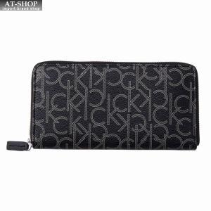 カルバンクライン Calvin Klein 財布サイフ ラウンドファスナー長財布 79468 BLACK|at-shop
