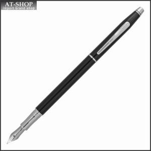 CROSS クロス 万年筆 クラシックセンチュリー ブラックラッカー ペン先 M:中字 AT0086-77|at-shop