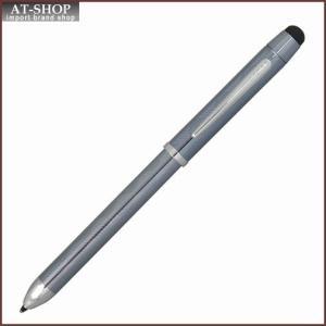 CROSS クロス 複合ボールペン  テックスリー プラス フロスティスティールラッカー AT0090-14|at-shop