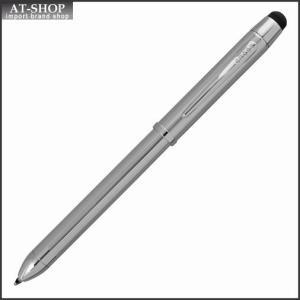 CROSS クロス 複合ボールペン  テックスリープラス クローム AT0090-1+|at-shop
