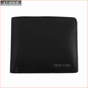 DIESEL ディーゼル 財布サイフ JEM-J HIRESH S 二つ折り財布 X03925 T8013 ブラック|at-shop