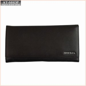 DIESEL ディーゼル 財布サイフ JEM-J 24 A DAY 二つ折り長財布 X03928 T2189 ブラウン|at-shop