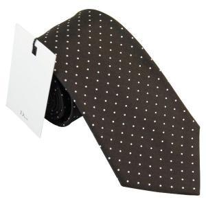 ディオール Dior ネクタイ シルク 8cm ドット柄 ブラック系 1h28171021 700 at-shop