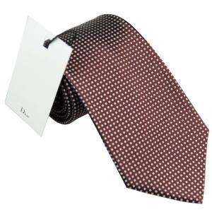 ディオール Dior ネクタイ シルク 8cm レッドブラウン系 1h28171034 340 at-shop