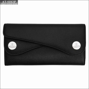 Vivienne Westwood ヴィヴィアン・ウェストウッド 財布サイフ NO,10 DOT 二つ折り長財布 51060026 BLACK 18SS ブラック|at-shop