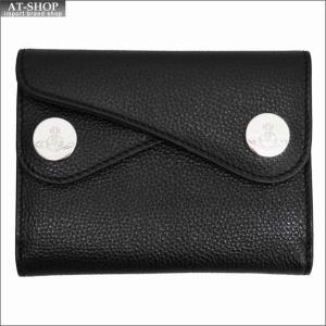 Vivienne Westwood ヴィヴィアン・ウェストウッド 財布サイフ NO,10 DOT 二つ折り財布 51150001 BLACK 18SS ブラック|at-shop
