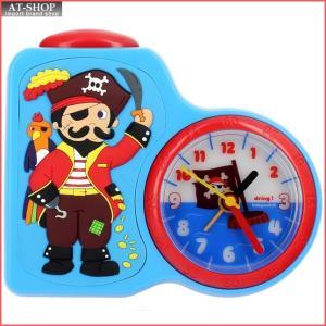 baby watch ベビーウォッチ 子供用目覚まし時計 LEDライト付き Dring 海賊 DR001 at-shop