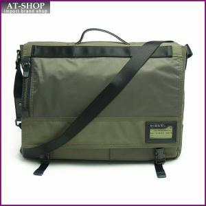 ディーゼル バッグ DIESEL  X01681 PR520 H4830 クロスボディ ブリーフケース Olive Night/Ivy Green|at-shop