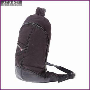 ディーゼル バッグ DIESEL  X01940 PR125 T8013 ボディバッグ ブラック|at-shop