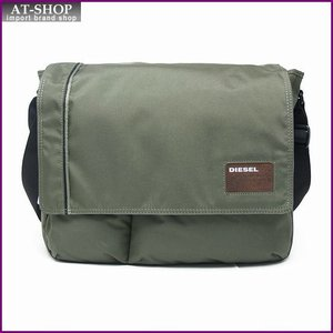 ディーゼル バッグ DIESEL  X02140 P0165 T7434 クロスボディショルダー Olive Night|at-shop