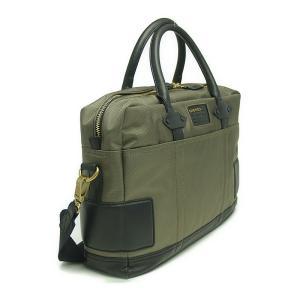 ディーゼル バッグ DIESEL  X02396 PS783 H5064 ブリーフバッグ Ivy Green/Black at-shop 02
