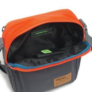 ディーゼル バッグ DIESEL X02408 P0166 H5065 クロスボディショルダー Orange/Charcoal Grey|at-shop|05