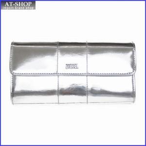ディーゼル 財布 DIESEL X02414 PS202 T9002 折長財布 シルバー|at-shop