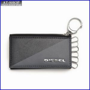 ディーゼル 財布 DIESEL X03112 P0519 H3800 キーケース ブラック/グレー|at-shop